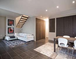 Geometrie Arredamenti: modern tarz Oturma Odası