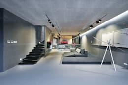 moderne Woonkamer door Millimeter Interior Design Limited