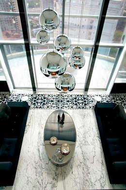 Brunete Fraccaroli Arquitetura e Interiores: klasik tarz tarz Oturma Odası