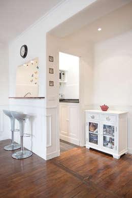 #josephdemaistre: Cuisine de style de style Rustique par Cocottes Studio