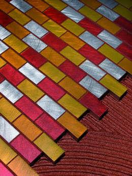 Starlike voegwerk Metallic Rusty: moderne Badkamer door Keramix