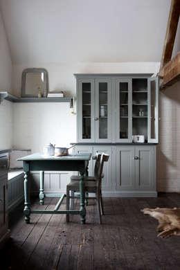 rustic Kitchen by deVOL Kitchens