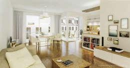 modern Living room by architekt4