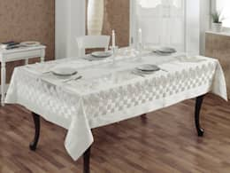 Evlen Home Collection – EVLEN HASIR MASA TAKIMI: klasik tarz tarz Yemek Odası