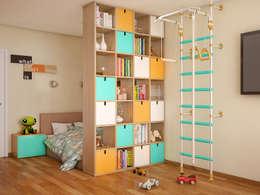 Chambre d'enfant de style de style Moderne par Tatiana Zaitseva Design Studio