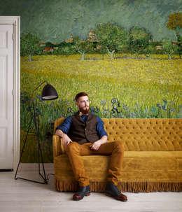 blickfang im wohnzimmer tapeten. Black Bedroom Furniture Sets. Home Design Ideas