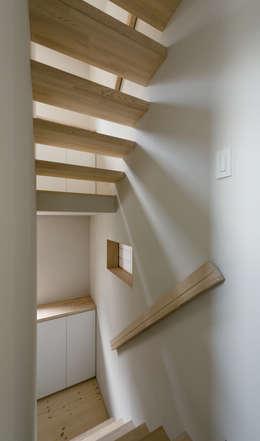 ENCLOSE: 充総合計画 一級建築士事務所が手掛けた廊下 & 玄関です。