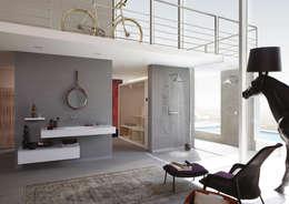 Axor - Showerproducts: Salle de bain de style de style Moderne par Espace Aubade
