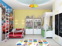 minimalistische Kinderkamer door Tatiana Zaitseva Design Studio