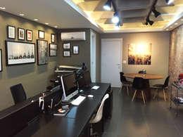 Operacional e Reuniões: Escritórios  por Vitor Dias Arquitetura