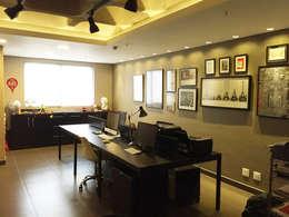Vitor Dias Arquitetura의  서재 & 사무실