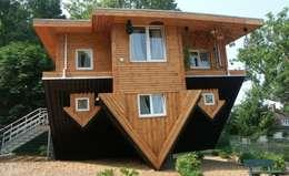 Projekty, eklektyczne Domy zaprojektowane przez homify