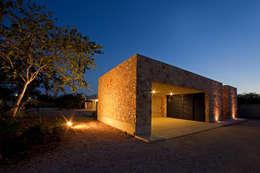 CASA GERSHENSON: Garajes de estilo moderno por Gonzalez Amaro