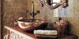 Bilgece Tasarım – Gül & Emin Timur: modern tarz Banyo