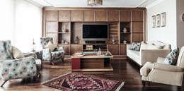 Salas de estilo moderno por Bilgece Tasarım