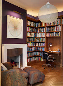 modern Study/office by ReDesign London Ltd