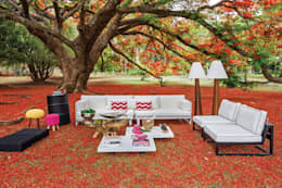 Jardines de estilo rural por Green House Moveis