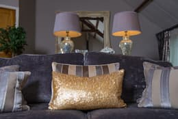 غرفة المعيشة تنفيذ Heather Interior Design