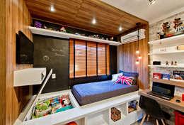 غرفة الاطفال تنفيذ Espaço do Traço arquitetura