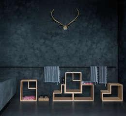 Collection June: moderne Woonkamer door In2wood