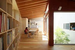 萩原健治建築研究所의  다이닝 룸