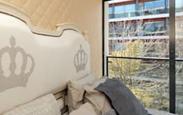 Dormitorios de estilo  por PreConceito