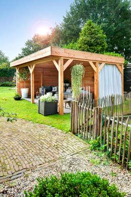 Blokhutten:  Tuinhuis door NuBuiten.nl