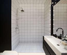 Mieszkanie: styl , w kategorii Łazienka zaprojektowany przez Sic! Zuzanna Dziurawiec