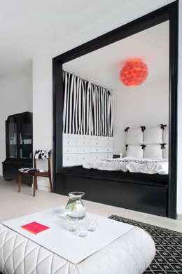 Mieszkanie: styl , w kategorii Sypialnia zaprojektowany przez Sic! Zuzanna Dziurawiec