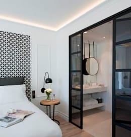 Projekty,  Sypialnia zaprojektowane przez Mosaics Torra