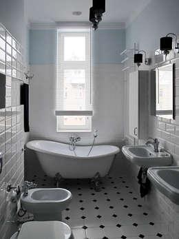 Apartament - Sopot: styl , w kategorii Łazienka zaprojektowany przez t