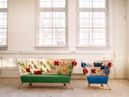 Paisajismo de interiores de estilo  por Ellinor Ericsson Creative Studio