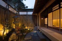 一級建築士事務所 (有)BOFアーキテクツ의  정원
