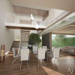 Столовые комнаты в . Автор – 21arquitectos