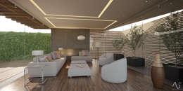 Гостиная в . Автор – 21arquitectos