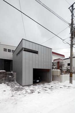 Casas de estilo moderno por 株式会社コウド一級建築士事務所