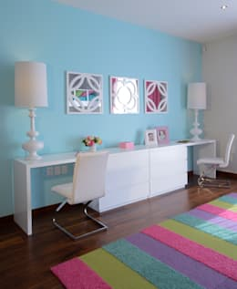 Dormitorios infantiles de estilo moderno por VICTORIA PLASENCIA INTERIORISMO