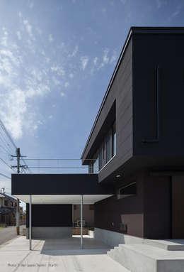 松岡健治一級建築士事務所의  주택