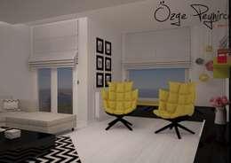 Livings de estilo moderno por Deniz Gökçe Mimarlık ve İnşaat