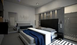 minimalistic Bedroom by diparmaespositoarchitetti