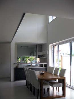 Projekty,  Jadalnia zaprojektowane przez up2 Architekten