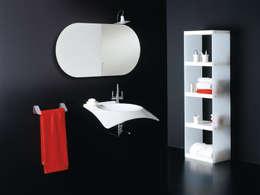modern Bathroom by Alum Design Works
