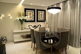 Sala de jantar: Salas de jantar modernas por Giovana Martins Arquitetura & Interiores