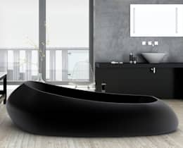 Baños de estilo moderno por Studio Ferrante Design