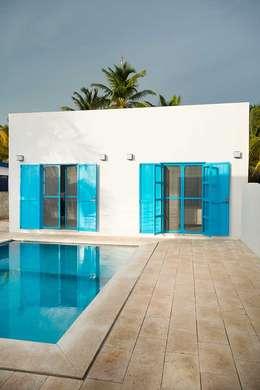 Azul aqua en paredes y decoraci n de interiores - Libros de decoracion de interiores ...