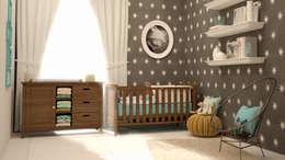 Projekty,  Pokój dziecięcy zaprojektowane przez CONTRASTE INTERIOR