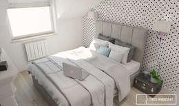 Moderne Schlafzimmer Von Twój Kwadrat