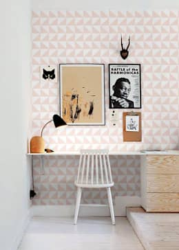 modern Study/office by Casa Feten