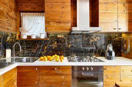 Cocina de estilo  por Ambra Piccin Architetto