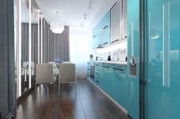 minimalistic Kitchen by Архитектурная мастерская 'SOWA'